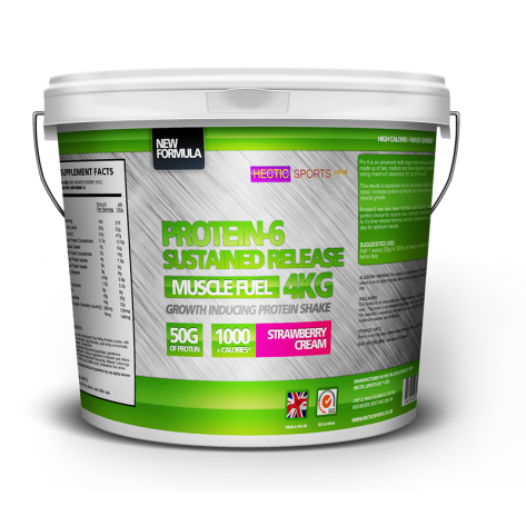 Protein-6 Multi-stage time released blend (4kgs)