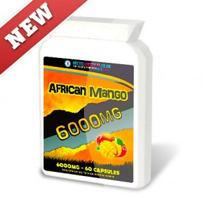 Hectic Lifestyles African Mango 6000mg Triple strength (60 capsules)