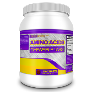 Chewable Amino Acids - Raspberry (250 Tablets)