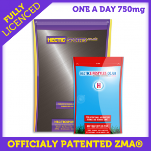 ZMA® 750mg Capsules - Officially Licenced by SNAC